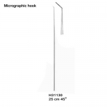 Micrographic hook
